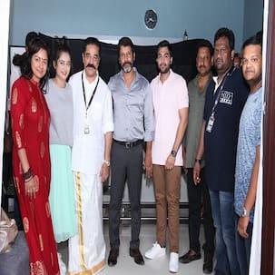 Kamal Haasan's production venture featuring Chiyaan Vikram and Akshara Haasan goes on floors