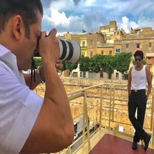 Bharat diaries: Salman Khan turns photographer for co-star Sunil Grover in Malta - view pic