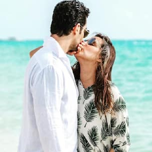 Angad Bedi's birthday post for wifey Neha Dhupia is all about kisses and sunshine- view pic