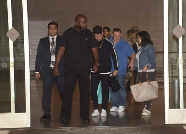 Nick Jonas, family reach Mumbai for engagement with Priyanka Chopra tomorrow
