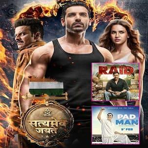 John Abraham's Satyameva Jayate BEATS Raid and Pad Man; emerges sixth highest opening weekend grosser of the year