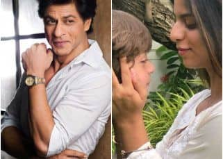 [PIC] Shah Rukh Khan and family make a promise on Rakshabandhan
