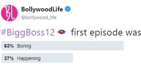 Bigg Boss poll