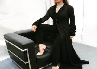 Drashti Dhami gives a glamorous spin to power dressing - view pics!