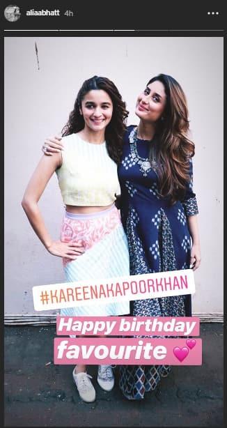 Kareena Kapoor Khan Alia Birthday Wish