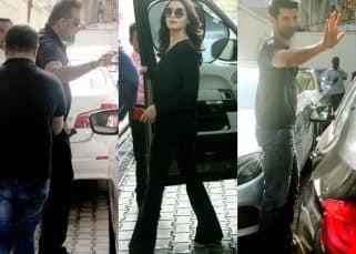 [PHOTOS] Alia Bhatt, Sanjay Dutt and Aditya Roy Kapur meet at Vishesh Films office for Sadak 2