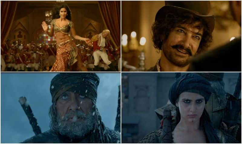 Thugs Of Hindostan trailer Aamir Katrina and Amitabh's film is a visual delight which will set the box office ablaze this Diwali- watch video