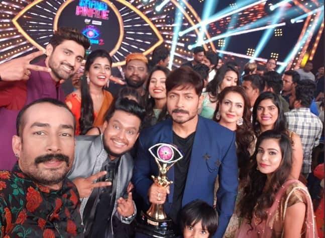 Bigg Boss Telugu 2 winner Kaushal Manda is all smiles as he poses