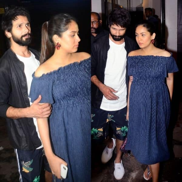 Soon to-be-mommy Mira Rajput looked uncomfortable after dinner date with hubby Shahid Kapoor – watch video