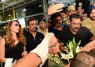 [VIDEO] Salman Khan and Iulia Vantur get mobbed in Jaipur