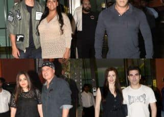 [In Pics] Aayush Sharma rings in his 33rd birthday with the 'Khan-daan' and friends