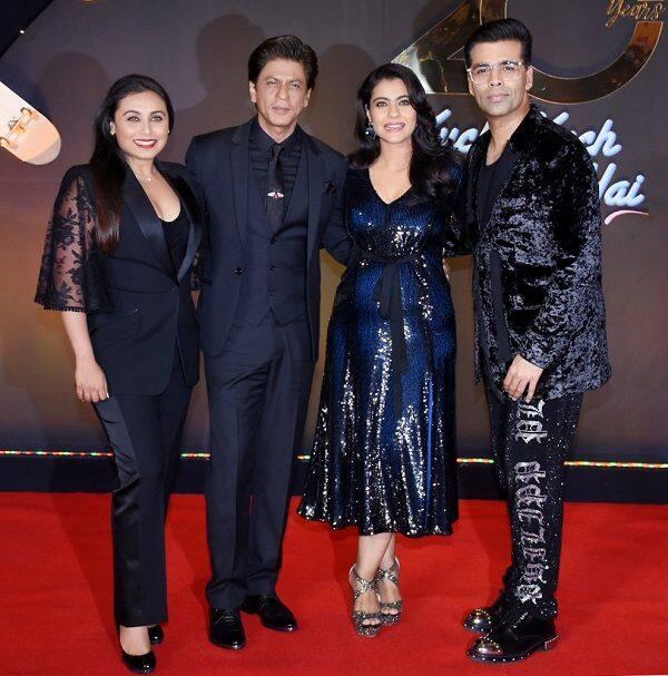 Hq Pics Kuch Kuch Hota Hai Shah Rukh Khan Kajol Rani Mukerji And