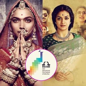 Epic dramas Padmaavat and Mahanati make it to the Indian Panorama section of IFFI 2018