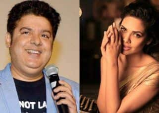 'Dont question the integrity of a woman,' says Esha Gupta after Sajid Khan steps down from Housefull 4