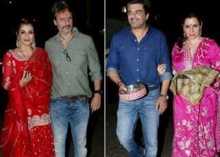 Raveena Tandon-Anil Thadani, Neelam-Samir Soni: 11 couples that joined the Karwa Chauth festivities at Anil Kapoor's residence