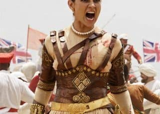 Manikarnika NEW STILL! Kangana Ranaut lets out a war-cry as she marches ahead to crush the Britishers