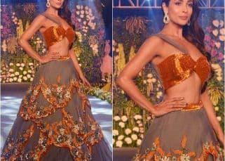 Malaika Arora stuns as the modern day bride at The Wedding Junction fashion show - view HQ pics