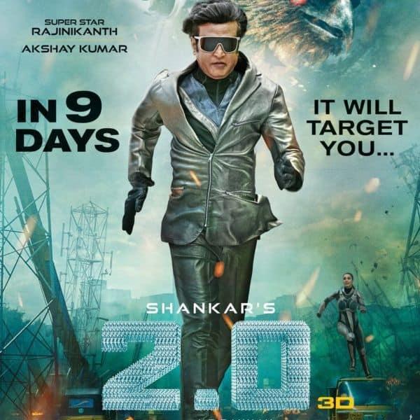 2.0 Release Posters: Rajinikanth as