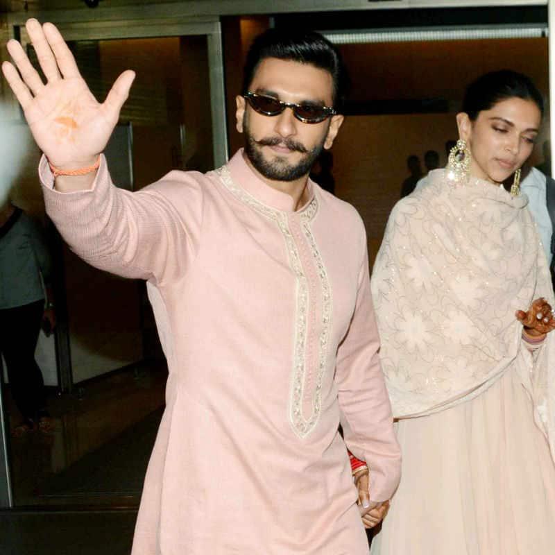 DeepVeer retured Mumbai after their first reception 3