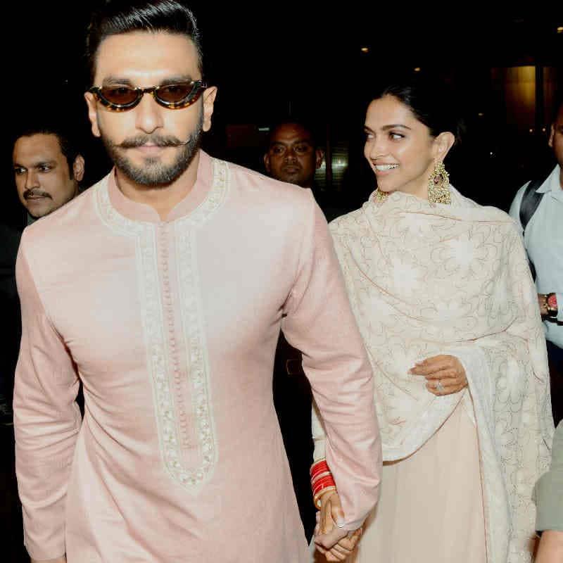DeepVeer retured Mumbai after their first reception 6