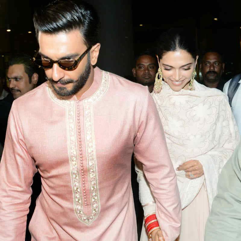 DeepVeer retured Mumbai after their first reception 7