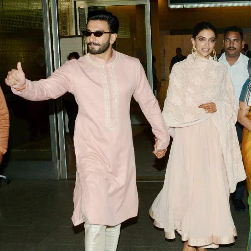 DeepVeer retured Mumbai after their first reception