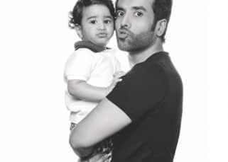 Happy Birthday Tusshar Kapoor: 5 times when the actor posed with son Laksshya and proved that he is a hands-on daddy