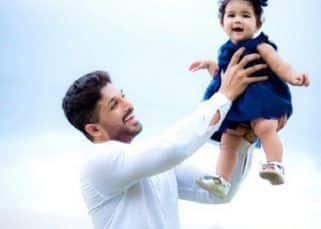 Allu Arjun shares the cutest birthday post for his little munchkin Arha - view pic