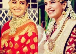 While we await bride Deepika Padukone's pictures, let's look at Anushka Sharma and Samantha Akkineni's bridal outfits for some style inspo