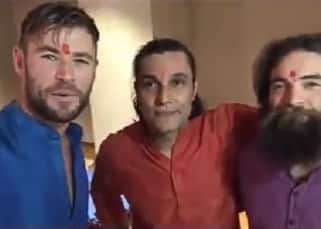 'Happy Deepawali,' Avengers actors Chris Hemsworth and Tom Hiddleston go desi and share Diwali wishes - watch video