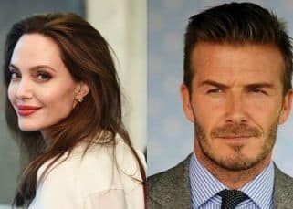 Brad Pitt's estranged wife Angelina Jolie is crushing on David Beckham and also secretly texting him? – here's the truth