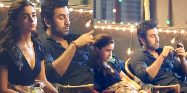 Leaked Pictures of Alia Ranbir from the Sets of 'Brahmastra'