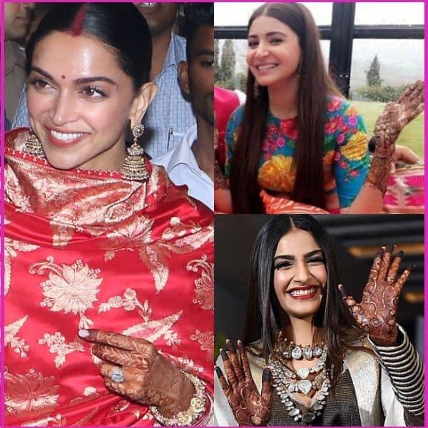 Deepika Padukone, Anushka Sharma, Sonam Kapoor: Check out ...