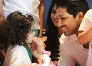 Allu Arjun is a doting dad in these adorable photos from his darling daughter Arha's 2nd birthday bash