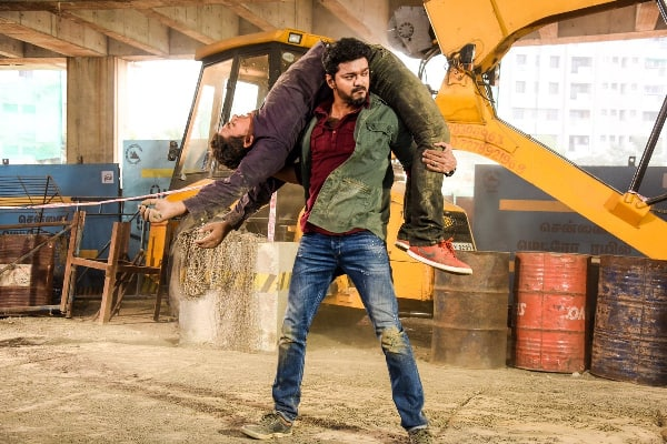 Vijay Fans Burn and Smash Freebies After Cuts in 'Sarkar'