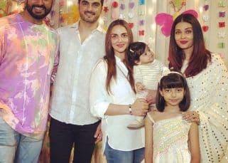 Karan Johar, Farah Khan, Shilpa Shetty, Twinkle Khanna, Esha Deol's kids make merry at Aaradhya Bachchan's second birthday bash - view pics