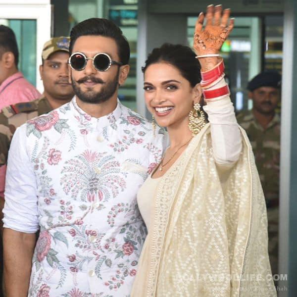 Ahead Of Their First Reception, Newlyweds Deepika Padukone
