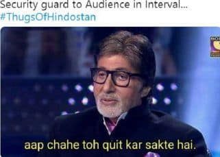 Thugs of Hindostan: Twitter has all the memes to cope with Aamir Khan and Amitabh Bachchan's sinking film