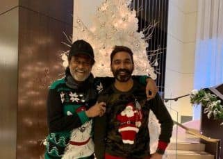 This picture of Superstar Rajinikanth and Dhanush holidaying in the US is breaking the internet – view pic