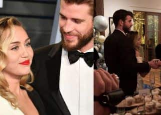 Did Miley Cyrus and Liam Hemsworth get married in a private ceremony over the weekend? These pictures say so