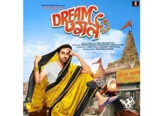 [PIC] Dream Girl FIRST LOOK: Ayushmann Khurrana drapes a saree and sports bangles for the wacky film