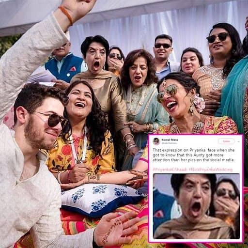 Not Priyanka Chopra And Nick Jonas But One Lady From Their Mehendi