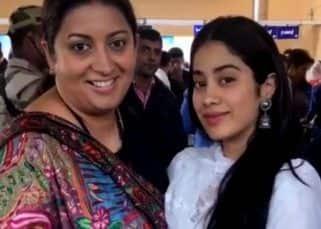 Janhvi Kapoor calls Smriti Irani 'Aunty' and latter's reaction is unmissable - watch video