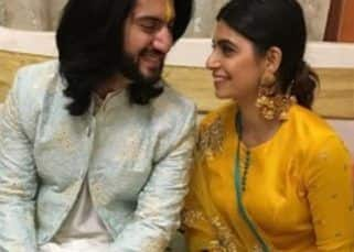 [WATCH VIDEO] Kunal Jaisingh and his would-be bride Bharati Kumar are cheered on by the Ishqbaaaz cast as they do a romantic dance