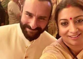 Going on a trip down the memory lane, Smriti Irani reveals advice that Saif Ali Khan gave her 23 years back