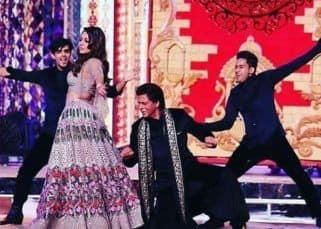 Shah Rukh Khan had to do THIS to dance with Gauri Khan at Isha Ambani's sangeet