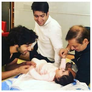 [In Pic] Varun Dhawan's 2018 was all about loving his niece along with his brother Rohit and father David Dhawan