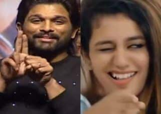 [VIDEO] Allu Arjun recreates the Priya Varrier bullet-kiss moment and it cannot get better than this