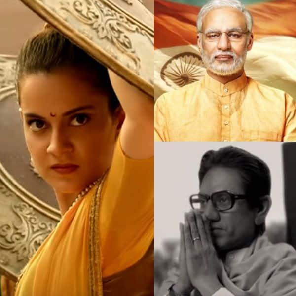 Nawazuddin Siddiqui'nin Thackeray'si, Vivek Oberoi'nin Narendra Modi'si veya B-Town yıldızı, gerçek hayattaki kişiliklerin bir kopyası gibi görünen Kangana Ranaut'un Manikarnika'sı? Şimdi oyla