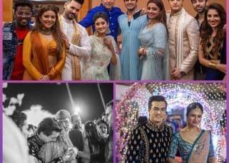 Mohsin Khan's sister Zeba's wedding graced by Divyanka Tripathi, Shivangi Joshi and family make for dreamy memories - view pics